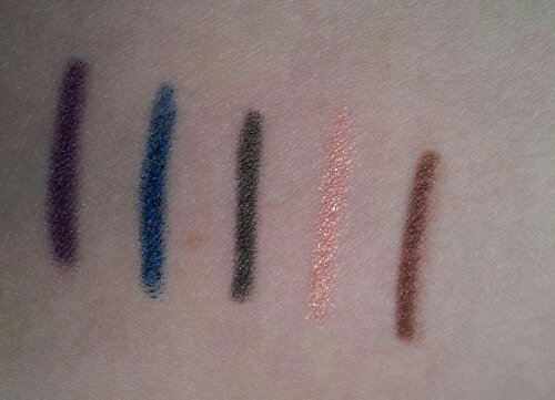 la saison 2 avec : purple, deep blue, khaki, peach et choco