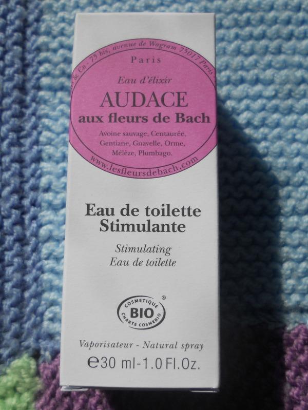parfum audace fleur de bach MBAB