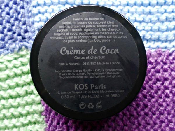 crème de coco kos