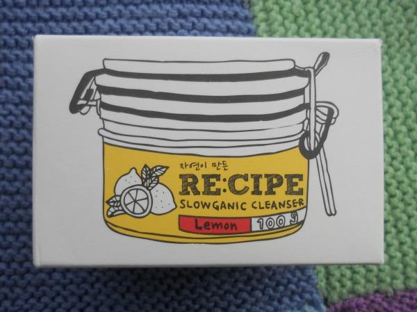 re:cipe nettoyant citron