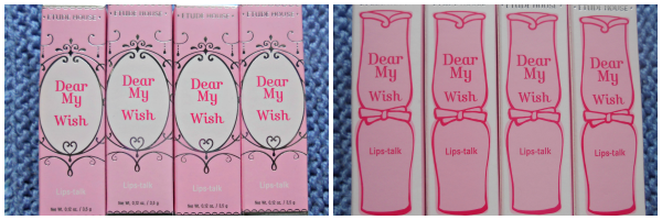 dear my wish lips talk